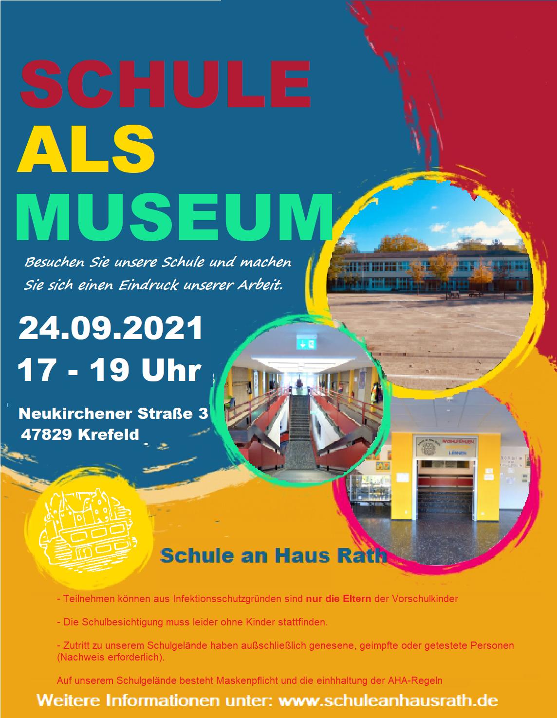Unsere Schule als Museum
